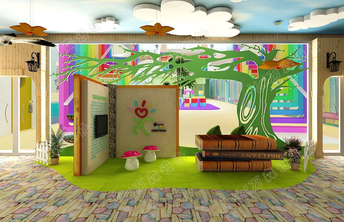 致力于儿童空间创意设计,使孩子有一个健康成长的环境,为幼教事业贡献
