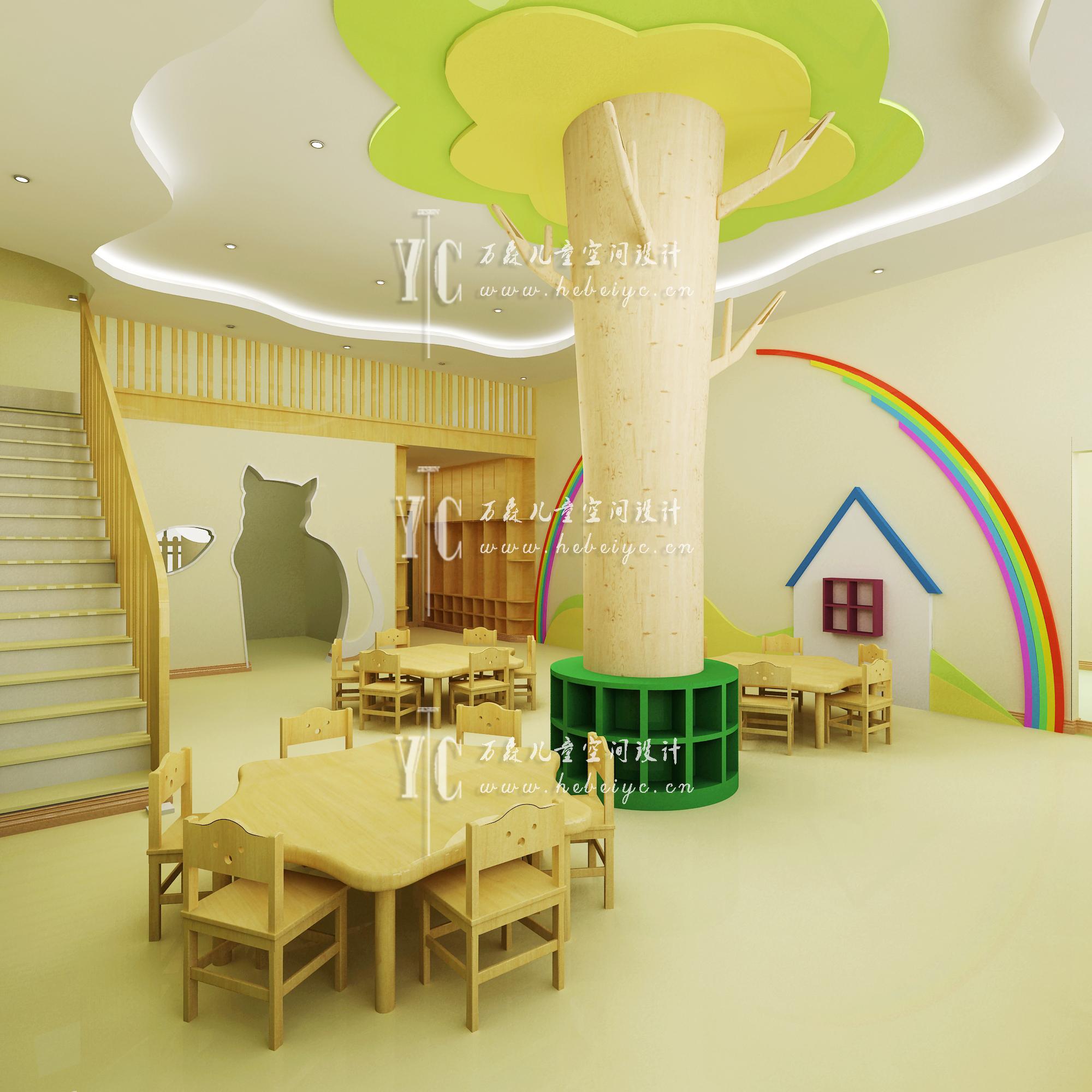 天津中国科学院幼儿园 - 天津河北万森装饰设计有限